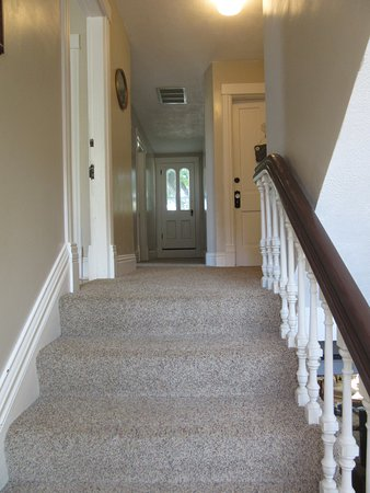 Stairs up to 2nd Floor Guest Rooms (King & Queen Rooms)