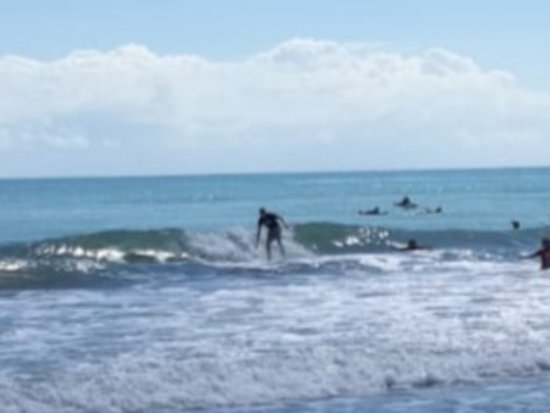 Even old teachers can surf