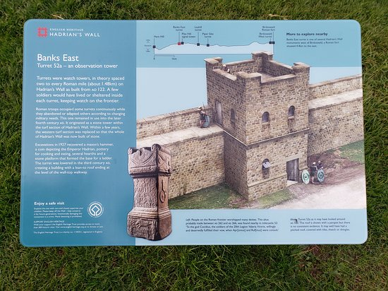 Banks East Turret - Hadrian's Wall