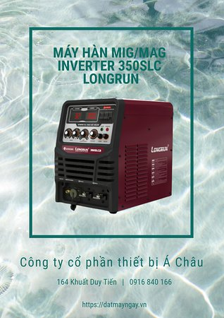 Hanoj, Vijetnam: Máy hàn MIG/MAG Inverter 350SLC Longrun (WorldWel) http://bit.ly/35AtTxW Liên hệ: 0916840166 Email: salesmanager.achau@gmail.com
