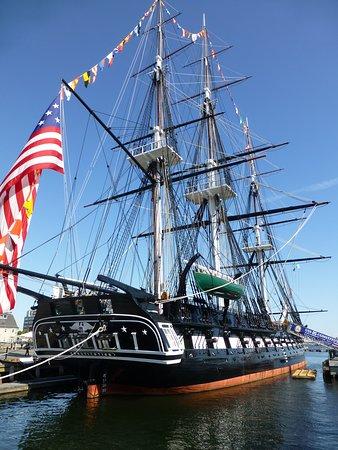 USS Constitution - exterior view