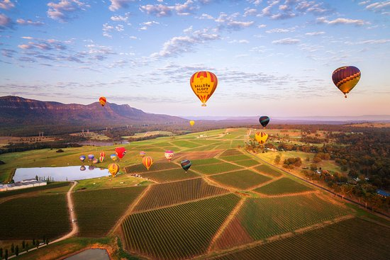 ‪Balloon Aloft Hunter Valley Day Tours‬