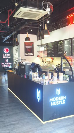 Our coffee counter