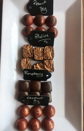 Our Place Wine and Espresso Bar: Delicious chocolates handmade in tenterfield