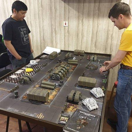 Casual Warhammer game