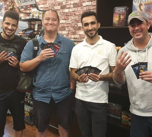 Winners from one of the MTG events