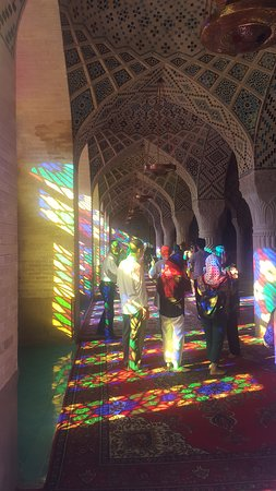 Shiraz, Iran: Pink mosque