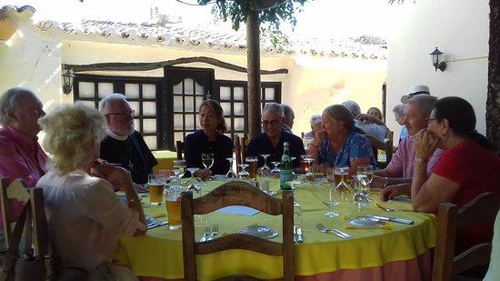 Santa Barbara de Nexe, Portugal: St. Luke's Harvest Lunch