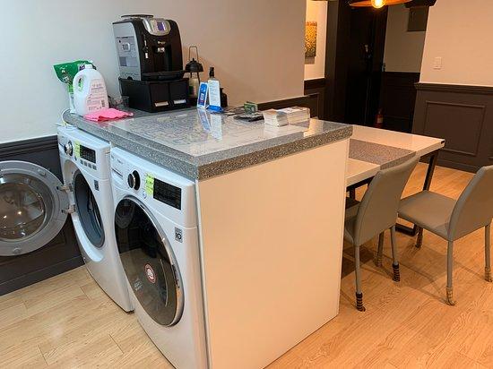 二樓大廳, 洗衣機不提供給住客使用