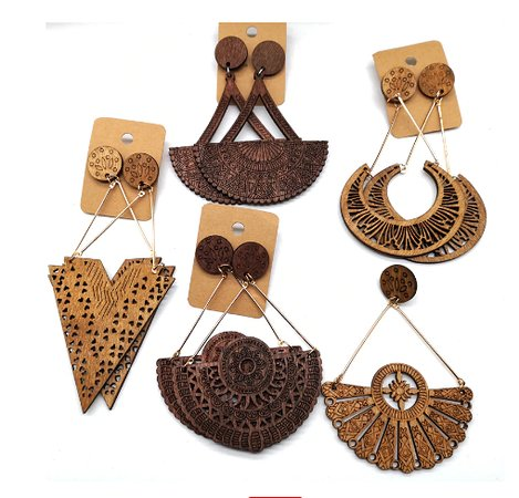 ear rings ethnic hand made priced only 10 euros!!!