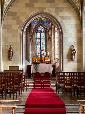 The Catholic chapel.