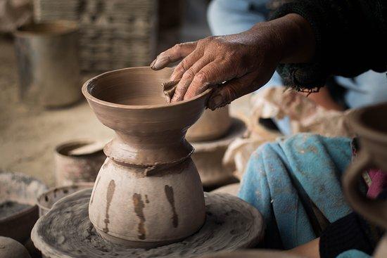 Pottery workshop Likir Village