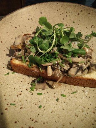 Starter - wild mushrooms