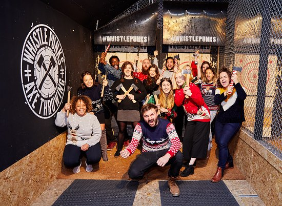 ‪Whistle Punks Urban Axe Throwing‬