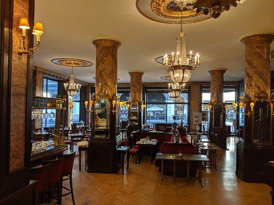 The Danubius Cafe.