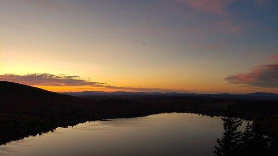 Mount Pinacle Sunset Panoramic View