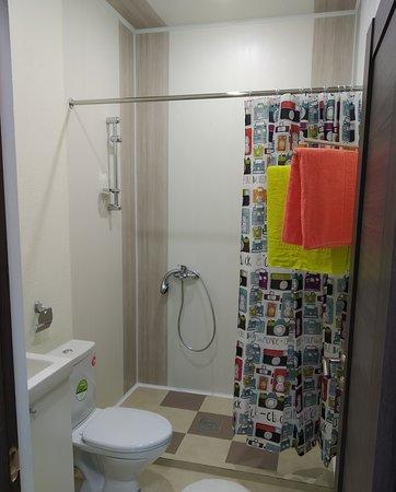 St. Petersburg, Russia: Апартаменты(студия) Ванная комната