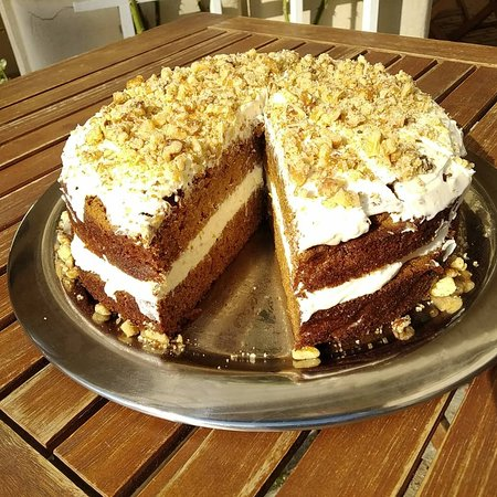 Our ultimate carrot cake - you must try!!