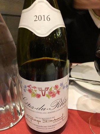 Cotes du rhone vin rouge