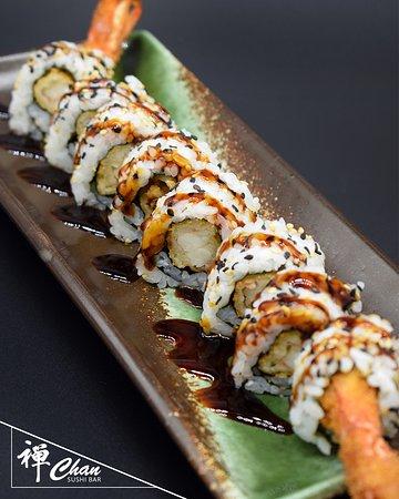 Uramaki tempura