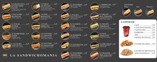 La Sandwichomania