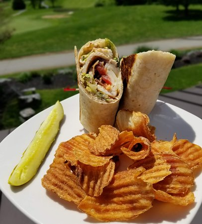 New wraps are on the menu!