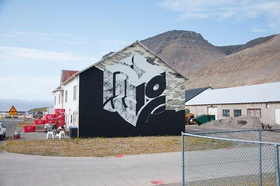 פטרקספיורדור, איסלנד: ÚR VÖR mural