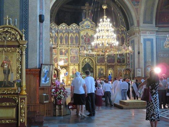 Czernowitz: Heilig-Geist-Kathedrale; Innenbereich mit Ikonostasis