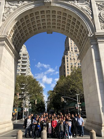 Private Luxury Tour of New York City: Group Picture taken by our Tour Guide: Berenice!