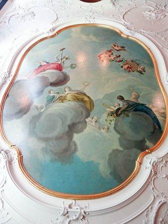 Huis Bartolotti: the ceiling