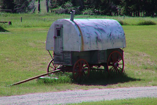 An old trailer