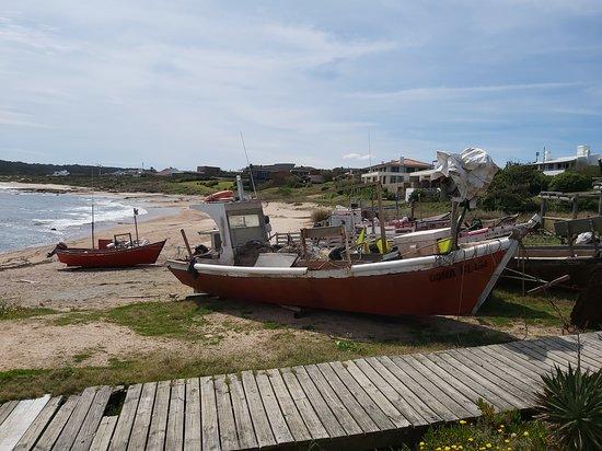 Mirador en Jose Ignacio entrando a la derecha zona de pescadores