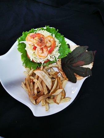 Sandwich de camarón!