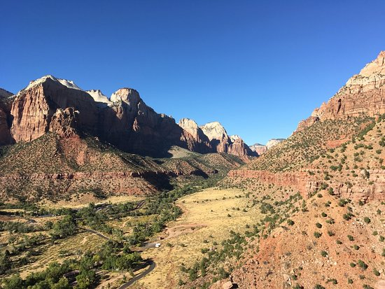 Watchman Trail: Photo is taken at the end of the side trail of the loop trail.