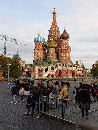 מוסקבה, רוסיה: Moscow sights - St Basil's