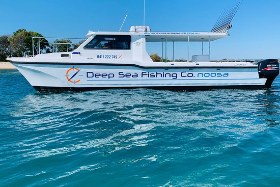 Deep Sea Fishing Co Noosa Aboard CATCH 22