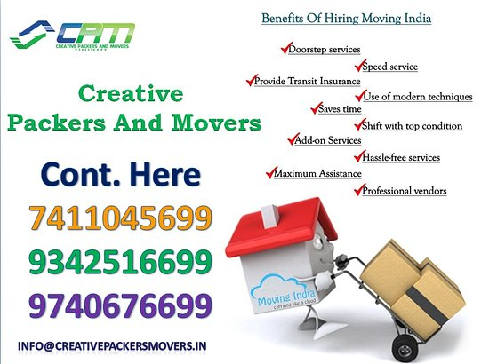 Intia: Creative Packers and Movers