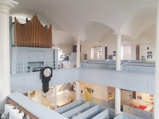 Interior, view upstairs