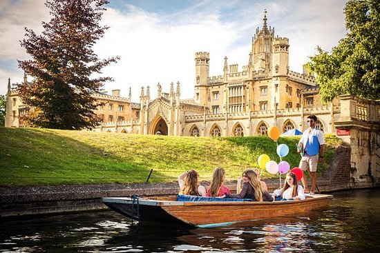 Privat Punting Tour i Cambridge
