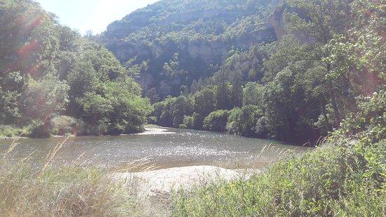 Gorges du Tarn Causses, Frankrike: Paysage