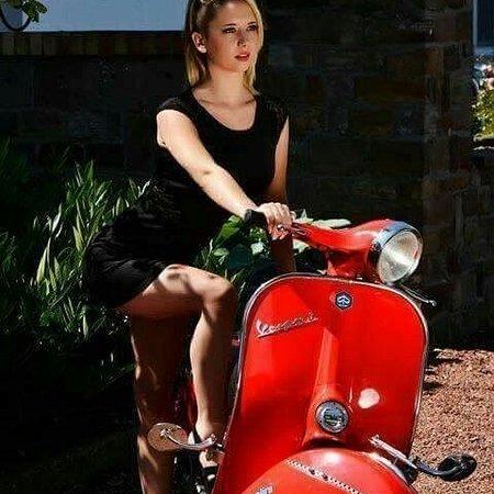 Lido di Ostia, Italien: Mitica Vespa