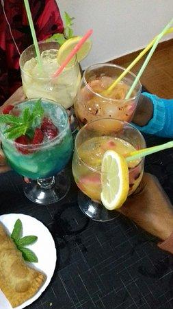 Cocktail deliciosos