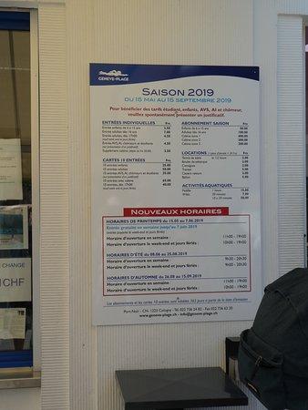 Sin colas: entrada a Geneve Plage en Ginebra: Entrance Prices