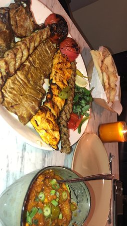 The finest selection of Persian and Indian Food