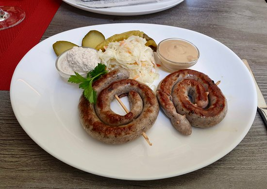 Lovely 'curly sausages'