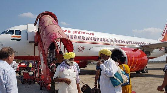 Air India: Посадка в самолёт
