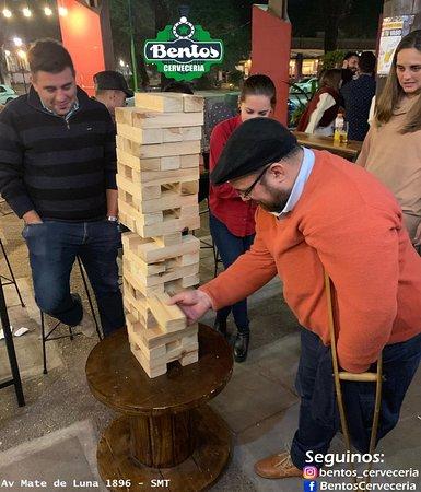 Tafi Viejo, Argentinië: Juegos en Bentos!!
