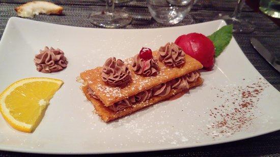 Mille-feuilles Chocolat