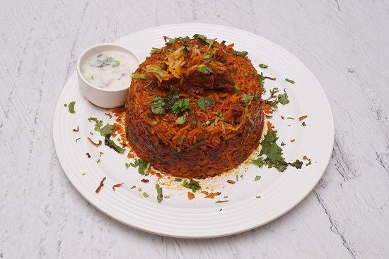 Chicken Kolhapuri Biryani