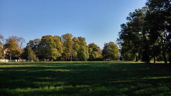 Topolcany, Slowakije: Park v októbri 4